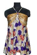 Vintage-Sari-halter-Top
