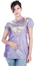 Vintage Sari Short Sleeve Top