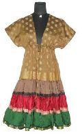 Vintage Sari Tired Dress