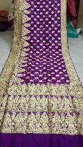 Traditional Banarasi Satin Silk Saree
