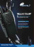 Vertel Walkie talkie Radio