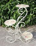 Decorative Flower Pot Stand with Beautiful Curves