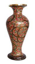 Paper Mache Flower Vase 03