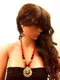 Handmade DOKRA Necklace Environmental Friendly Jewelry