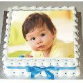 Eggless Birthday Photo Cakes