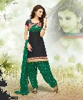 Black Color Designer Cotton Salwar Suit