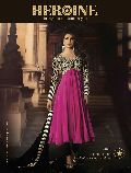 Stylish Fancy Ethnic Pink Color Anarkali Suit