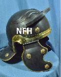 Black Antique Roman Helmet